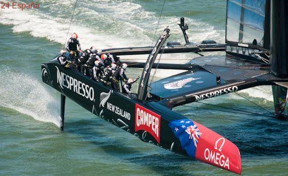 """New Zealand quiere revolucionar la navegación en la próxima Copa América con los """"grinders"""" ciclistas"""