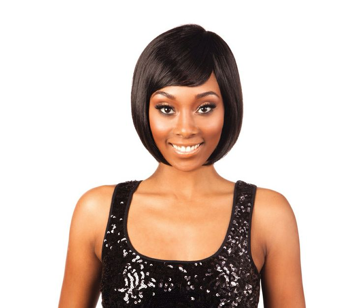 Here is a gorgeous bob cut in the Nominee Series and it's called the Nominee 02. These wigs are so easy to remember which makes it so easy to order them again! You can put this one behind your ears on one side or both sides or cover your ears with it completely - the choice is yours, you can play with this style by wetting it and running your fingers through the hair towards the direction you want the wig to settle in! Rock it or tame it but have fun with it and enjoy! It fits like a glove!