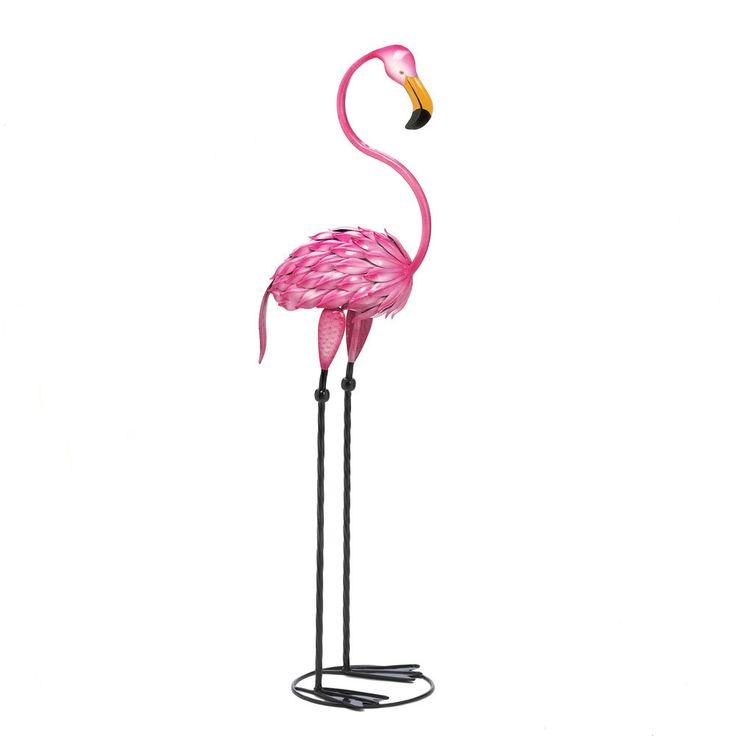 Zingz & Thingz Fabulous Flamingo Garden Statue & Reviews | Wayfair
