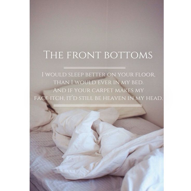 19 best images about the front bottoms on Pinterest