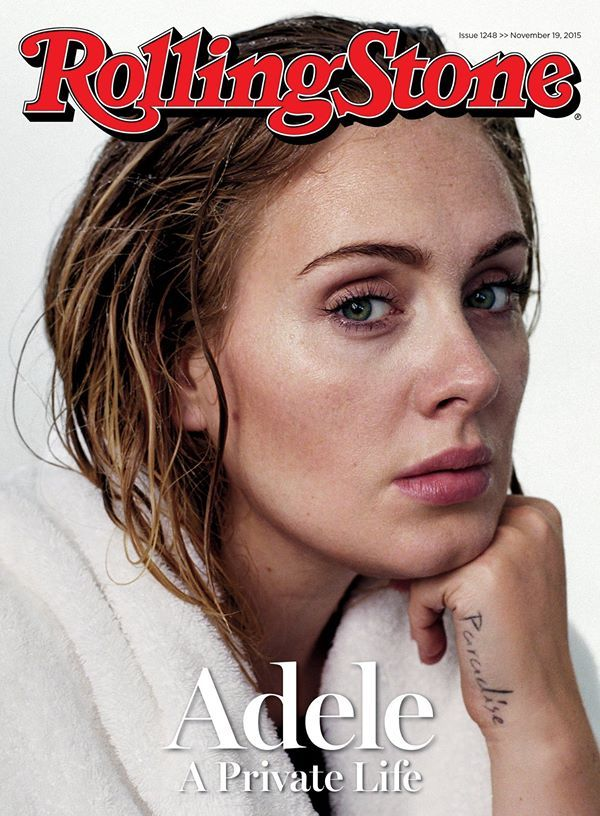 Beauty Mags: Adele | Rolling Stone US November 2015