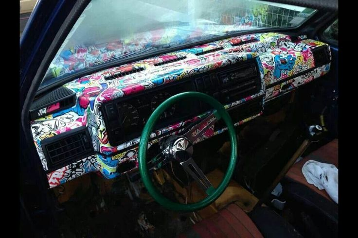 Modern Cars With Painted Dashboards