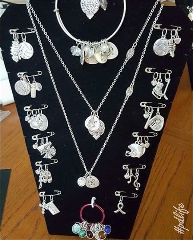 We <# this wonderful way to display all our charms!