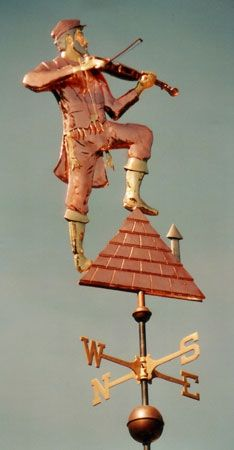 Fiddler on Roof Weathervane