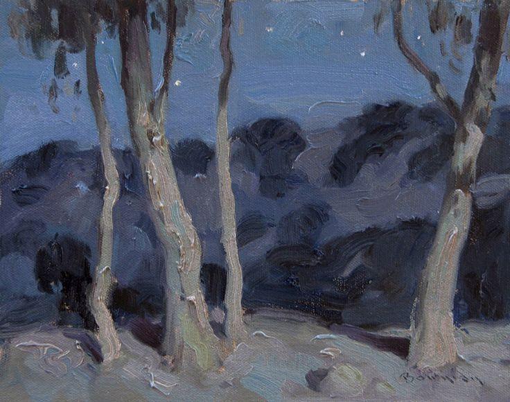 Silent Night, Sonoma Oil Eric Bowman