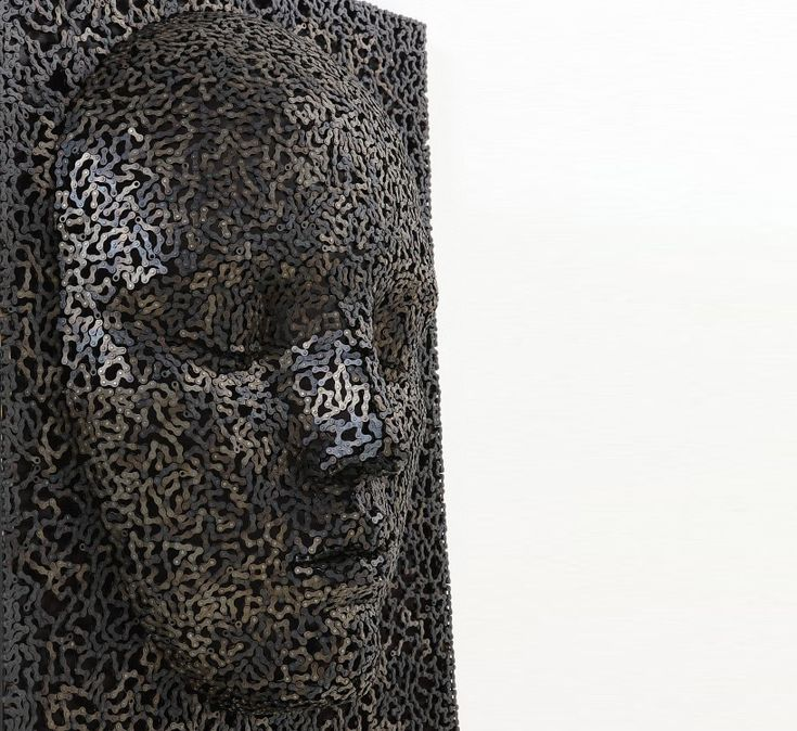 bicycle chain sculptures by seo young deok