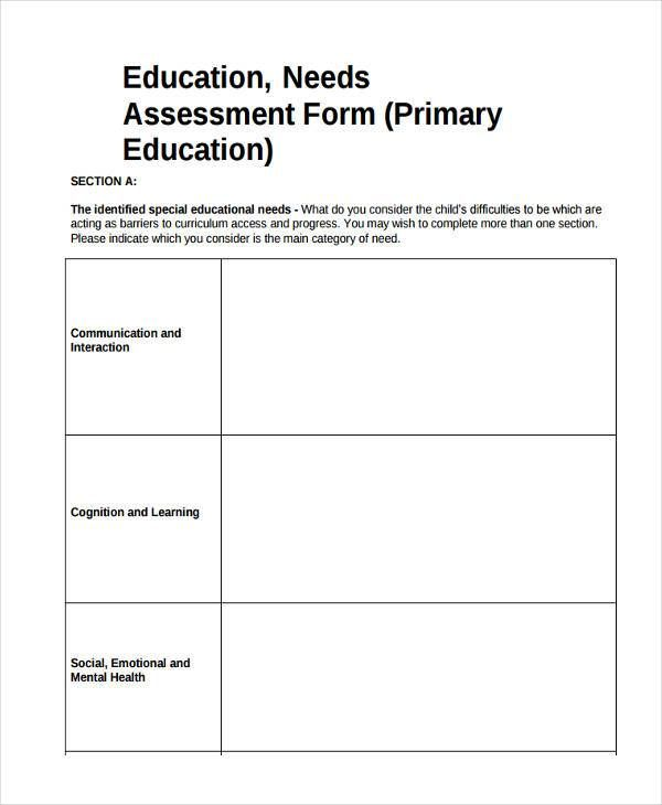 Needs Assessment Template. Pin By Aisha Amel On Amazing Templates