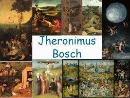 Leuke en informatieve powerpoint over Jheronimus Bosch voor 5, deze en nog vele…