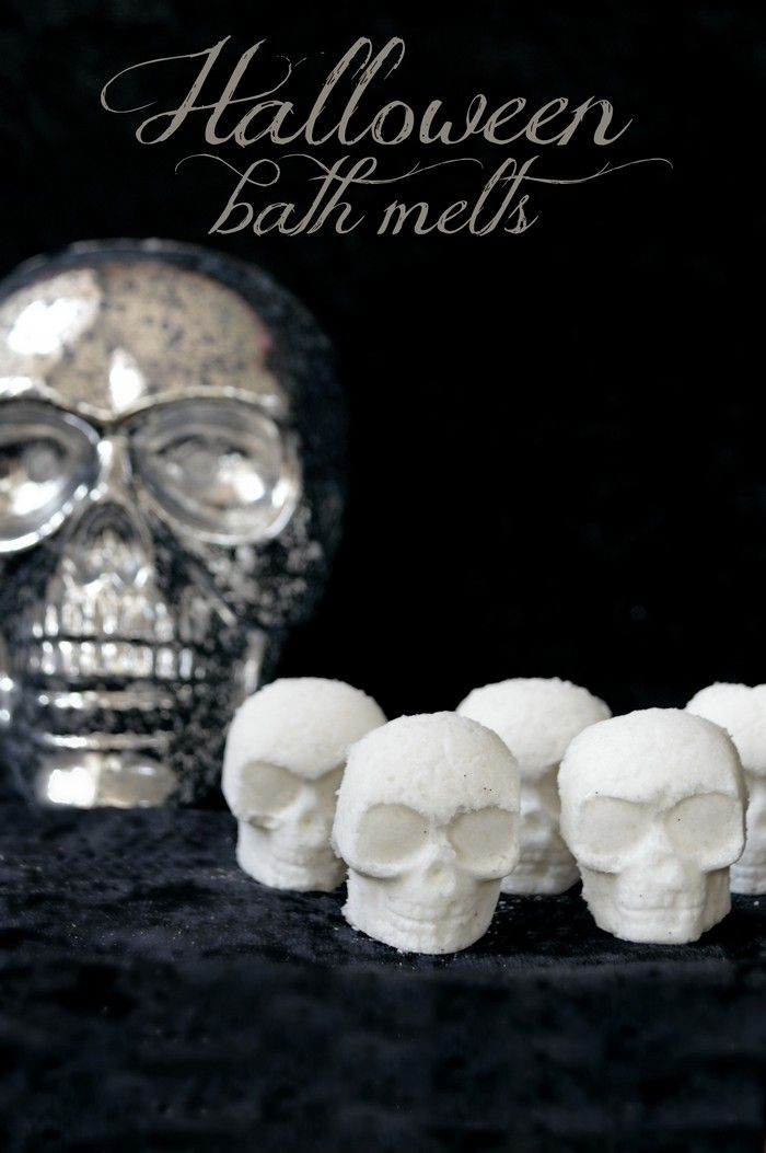 diy halloween bath melts smell like marshmallows - Diy Halloween Crafts