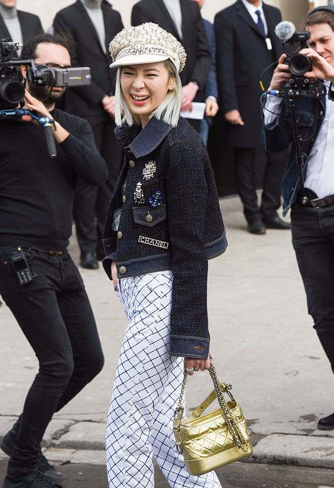 41177ee8841 The Best Celebrity Bag Looks of Paris Fashion Week Fall 2018 ...