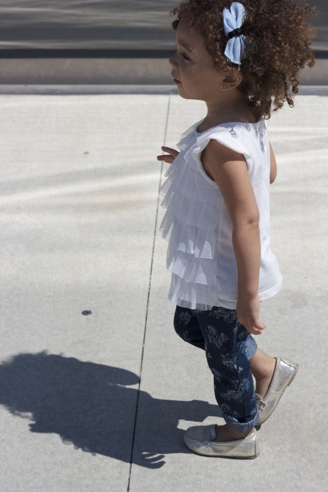 I have an obsession with distressed jeans. #KidsFashion #Jeans #Pants