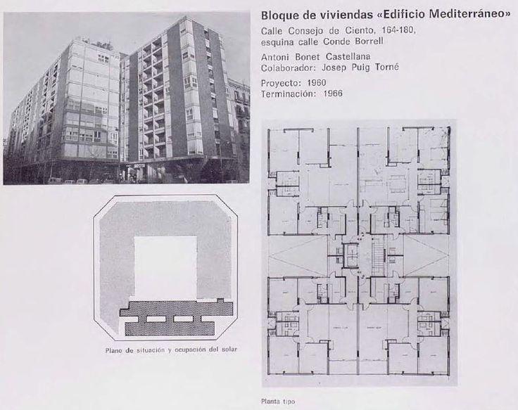 Mejores 47 im genes de habitatge col lectiu en barcelona - Calle borrell barcelona ...