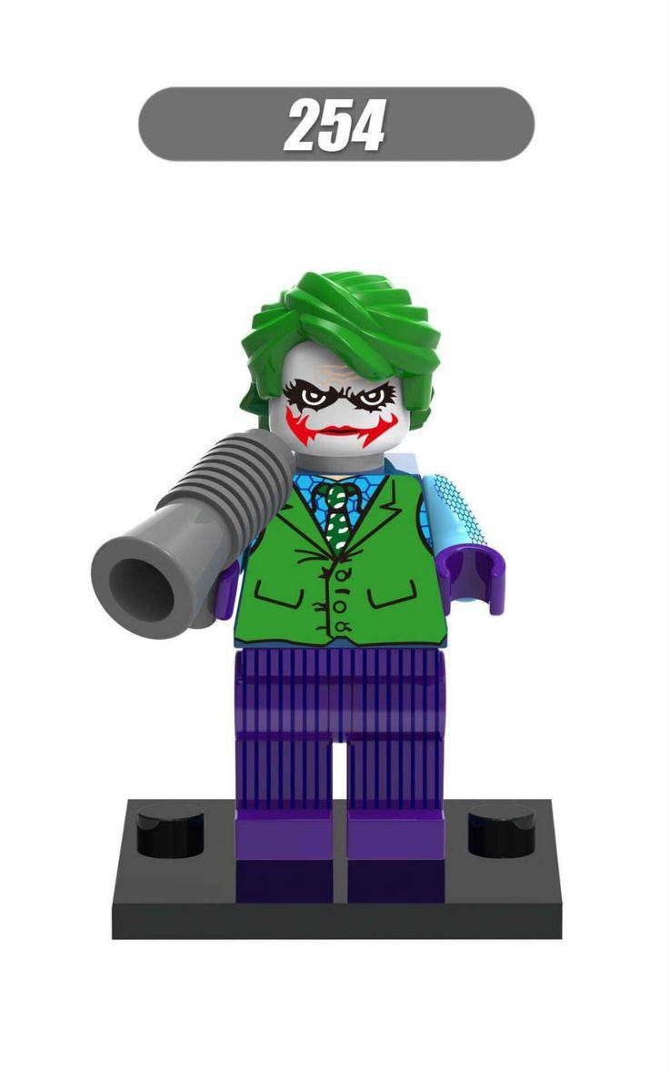 500 шт. хк 254 строительные блоки супер герой Deadshot ядовитый плющ женщина кошка джокер Minifigures DC супергерой модели детей кирпичи игрушки