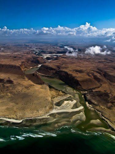 Somalian coast ~ Horn of Africa....