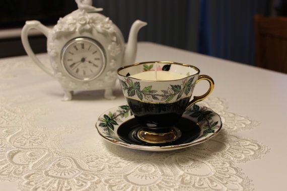 This beautiful Windsor teacup candle would look and smell amazing on any table.