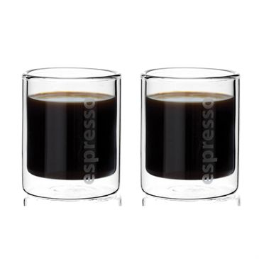 http://www.thekitchenette.fr/ustensiles-de-cuisine-m/Tasse-double-paroi/Set-de-2-tasses-espresso-double-paroi-9110160--Viva-Scandinavia/660 Tasse double paroi en verre scandinave #vivascandinavia #doubleparoi #café #espresso
