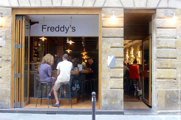 freddy's restaurant paris bar à tapas resto rive gauche trochot chef
