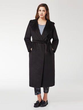 Cappotto in drap zibellinato