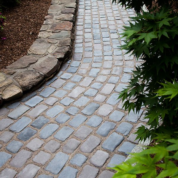 Excellent Pebble Stone Garden Path
