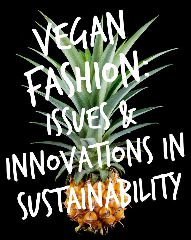 Vegan Fashion Isn't Just for Vegans   thenotepasser.com