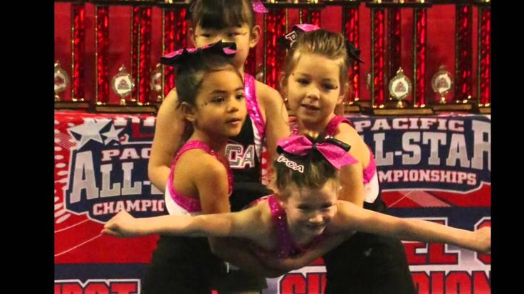 Panther Cheer Athletics|All-Star Cheer & Tumbling|Richmond, BC | Tiny Troopers ages 3-6yrs | http://panthercheerathletics.com
