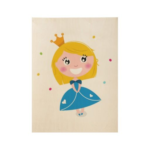 Princess wooden Poster : New art in Shop!