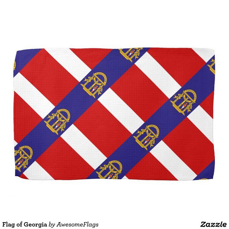 Flag of Georgia Hand Towel