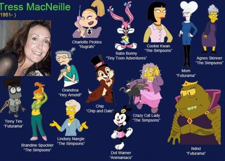 tress macneille characters