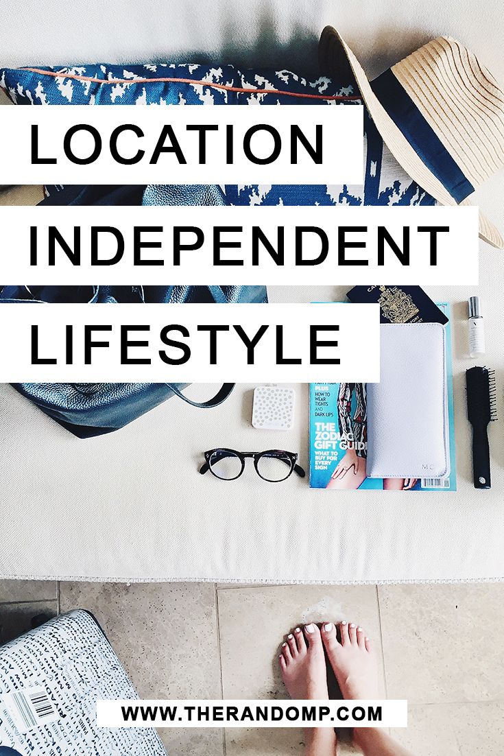 What is a location independent lifestyle? And how can you get one for yourself?! Learn more about location independence: https://www.therandomp.com/blog/location-independent-lifestyle/