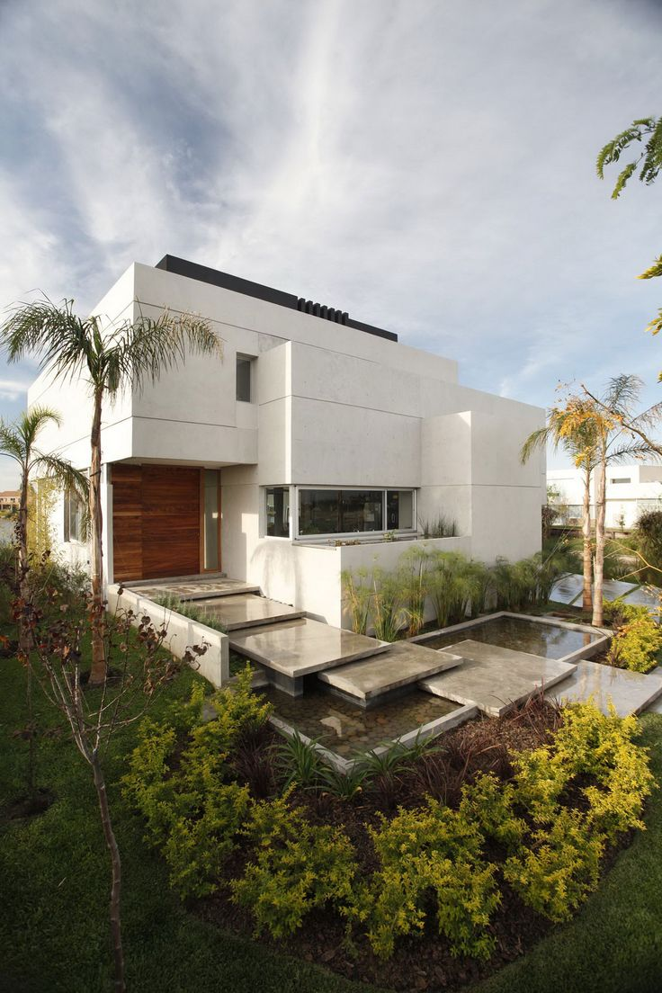 Landscape Design, Awesome House Landscaping Ideas for Modern and Minimalist Houses: Modern House Landscaping Ideas Picture