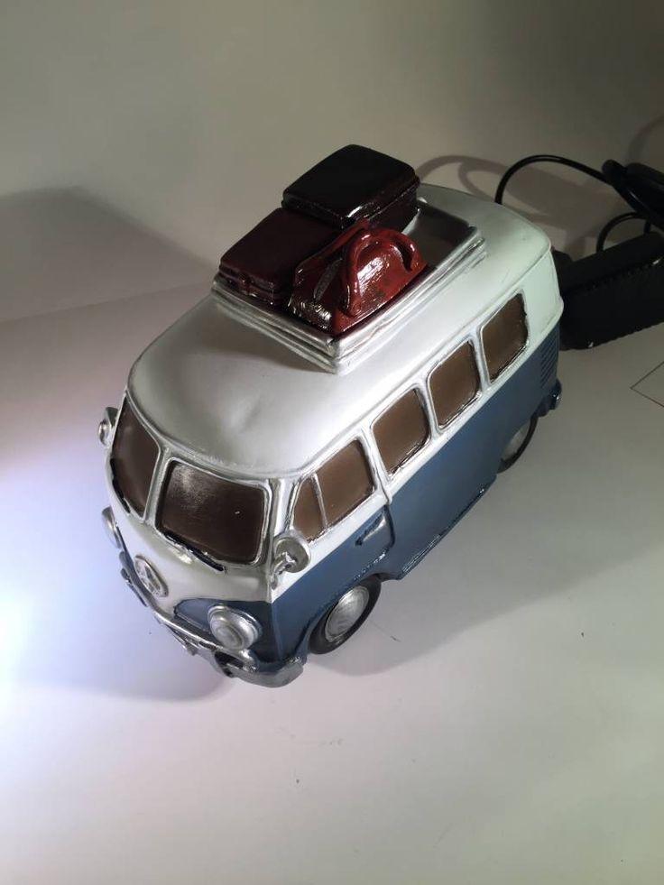 Fabulous Clayre u Eef Surfbus grijs met bagage lamp http versierendoejezo