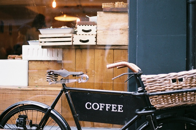 Coffee Delivery Bike