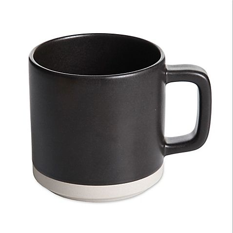Artisanal Kitchen Supply 13 oz. Edge Mug in Graphite