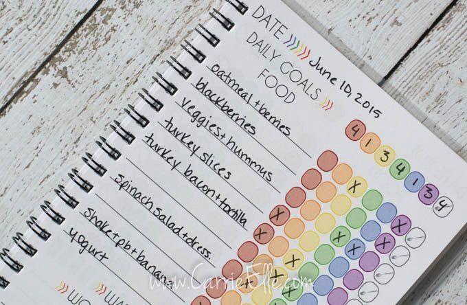 21 Day Fix Journals Modern Design In 2020 21 Day Fix Journal