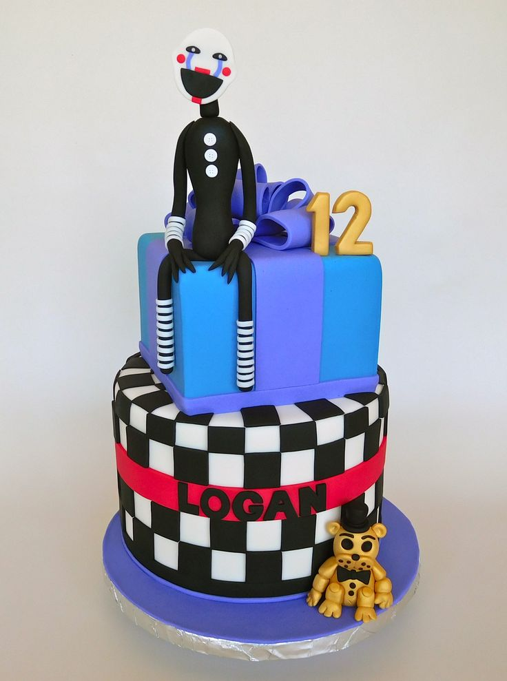 five nights at freddys cakes
