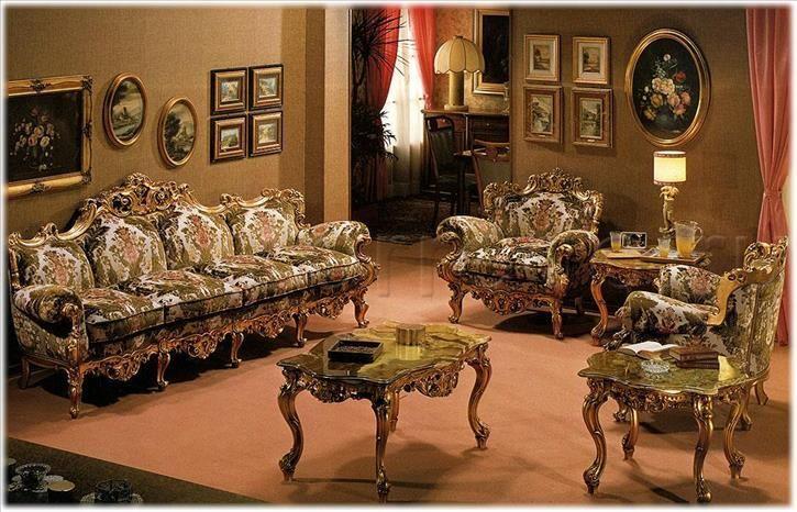 Композиция гостиные Comp.12, производитель FRATELLI RADICE , коллекция SALOTTI – гостиные из Италии в салоне «ARREDO»