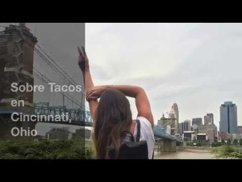 Sigue mi aventura por EE.UU y conoce la ciudad de Cincinnati. Suscríbete a youtube para que no te pierdas ningún #VLOG http://www.sobretacos.com