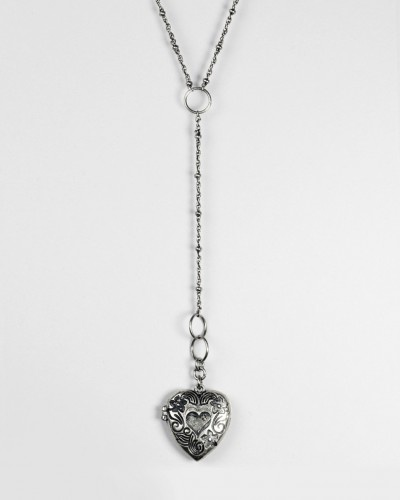The Lover's Locket Silver by Jewelmint.com $15: Lockets, Lovers, Lover S Locket, Jewelry, Jewelmint, Heart Locket, Necklace