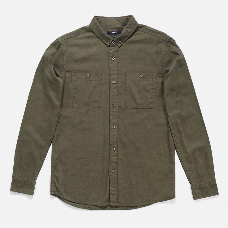 Deep South L/S Woven Shirt