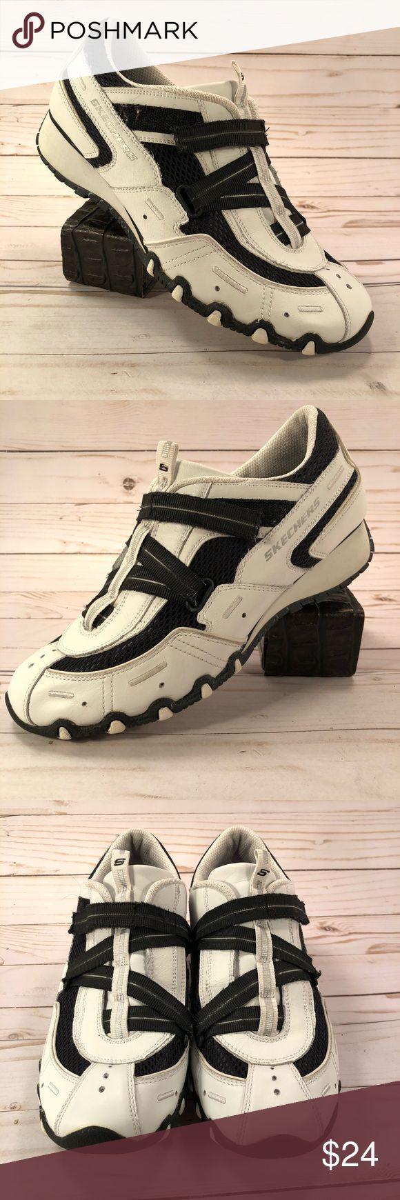 Skechers Bikers Casual Women's Athletic Shoe Size7 Gently Worn! Excellent! Casual Athletic Sneaker Women's 21223 Skechers Shoes Athletic Shoes