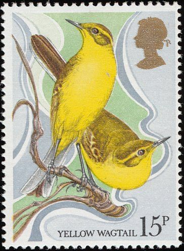 Western Yellow Wagtail stamps - mainly images - gallery format