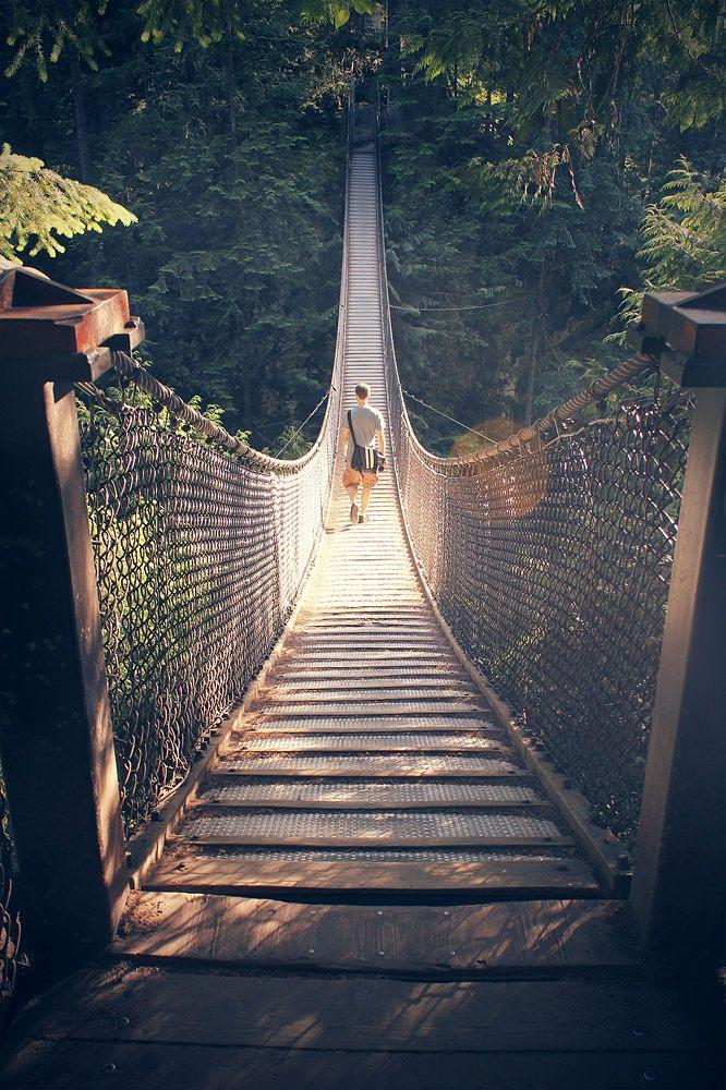 https://flic.kr/p/ujxkv7 | Lynn Canyon Suspension Bridge