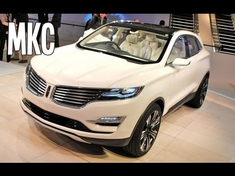 2014 LINCOLN MKC CONCEPT FEATURES WALK AROUND video