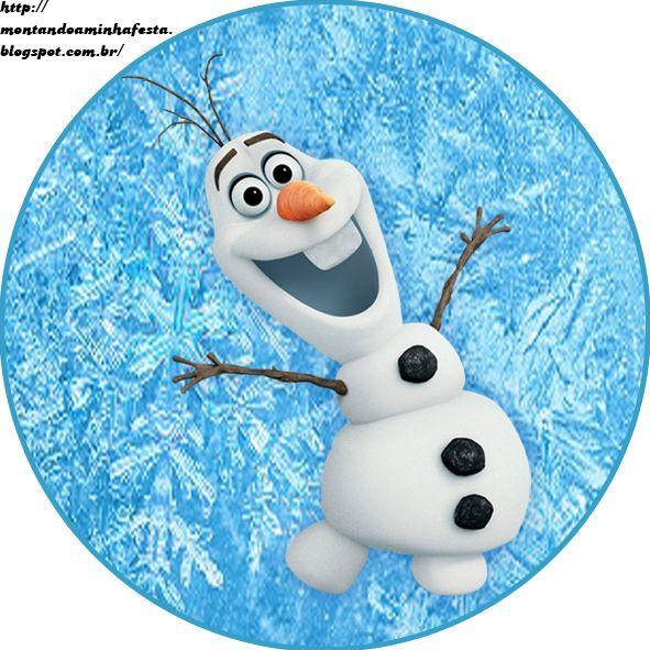 Montando minha festa: Olaf - Frozen uma aventura congelante