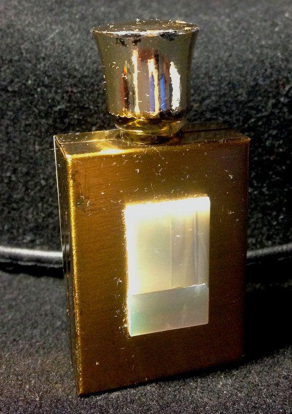 Mother of Pearl Geometrics Inlay on Metal Miniature