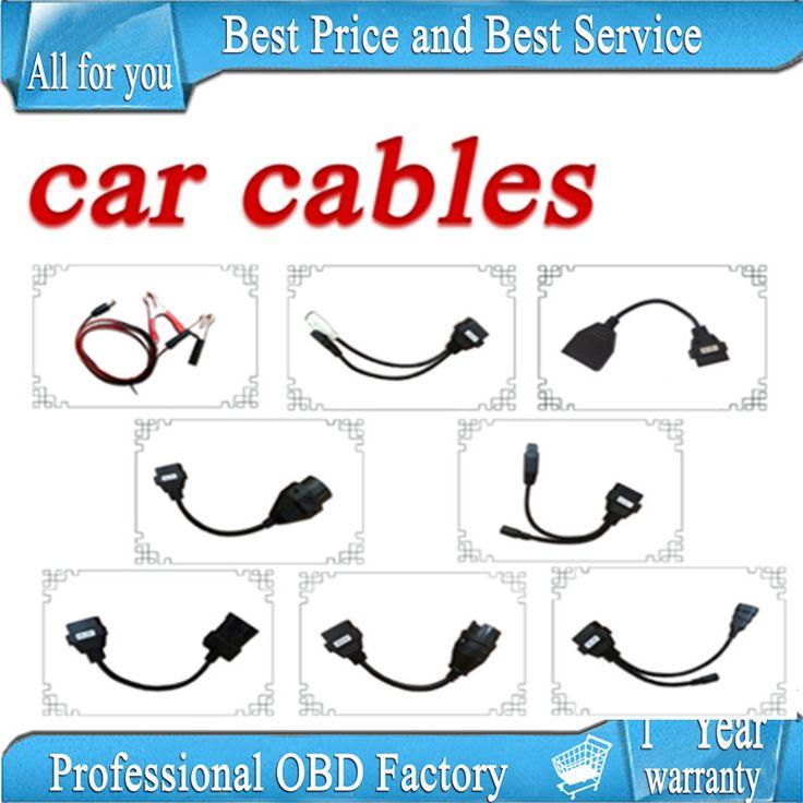 8 sztuk za komplet kolejki linowej na TCS cdp pro plus przez cn post kable samochodowe dla multidiag pro i wow snooper