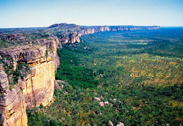 The escarpment, Kakadu