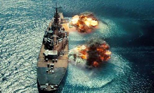 d day battleships