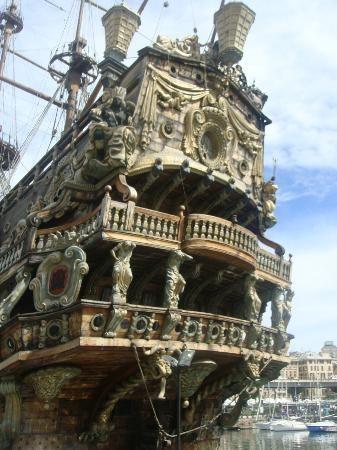 Old galeon