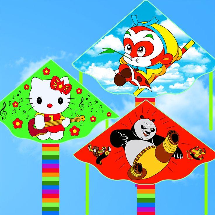 Cheap lantern yarn, Buy Quality lantern garland directly from China fabric chinese lanterns Suppliers: Free shipping high quality kitty kite panda kite 10pcs/lot  ripstop nylon fabric kite children kites duck sky lanterns for sale